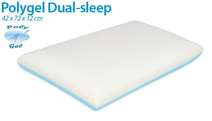 Guanciale Polygel Dual-Sleep